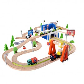 Train grand circuit 129 pcs